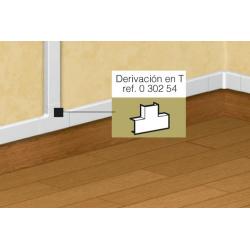 DERIVACION TE P/CANALETA...